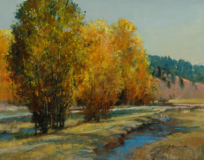 Aspens by the River