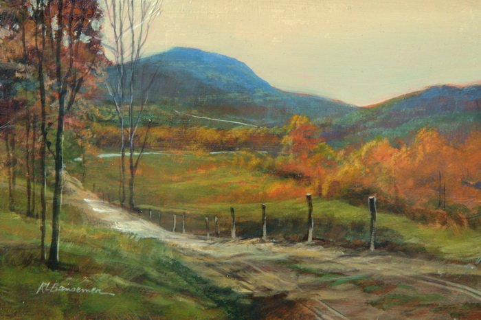 Autumn Road 6x9
