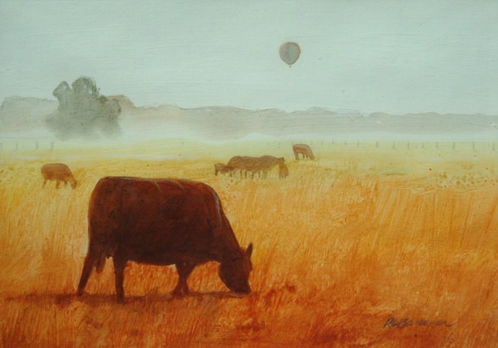 Ballooning over Cattle