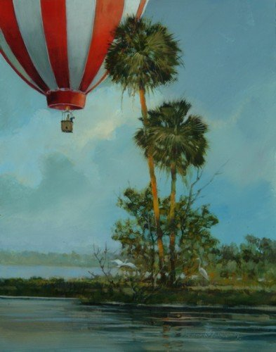 Ballooning over the Inlet