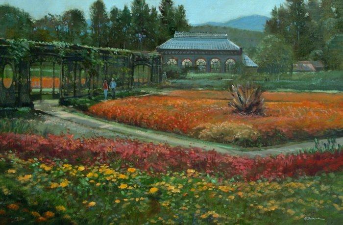 Biltmore Gardens Painting