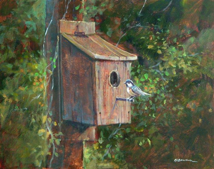 Bird House at Vorhees