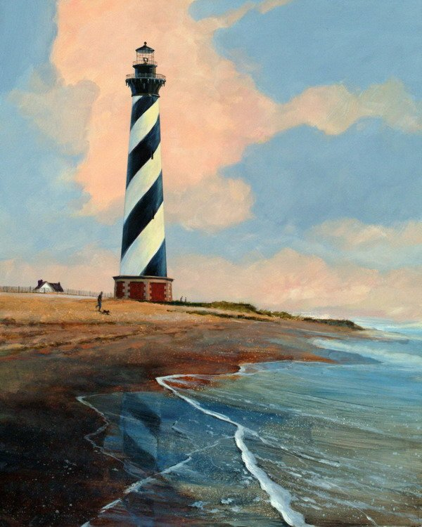 Cape Hatteras with gentle surf