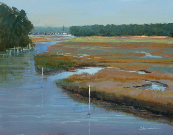 Bansemer Studio Amp Gallery Of Fine Art Carabelle Marsh