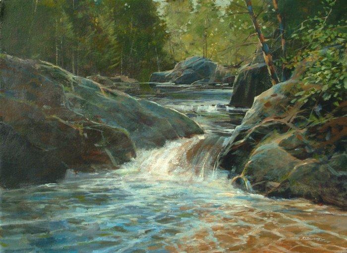 Cascade Falls 18x24