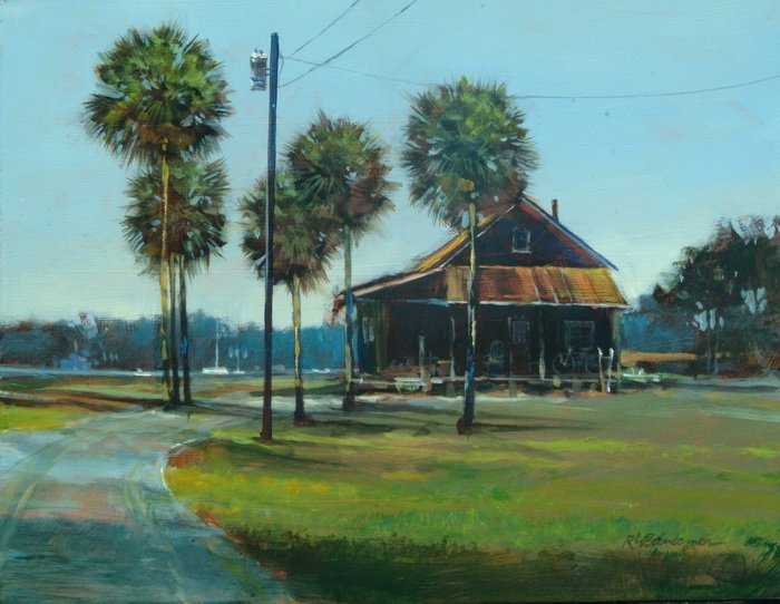 Cedar Key Homestead 11x14