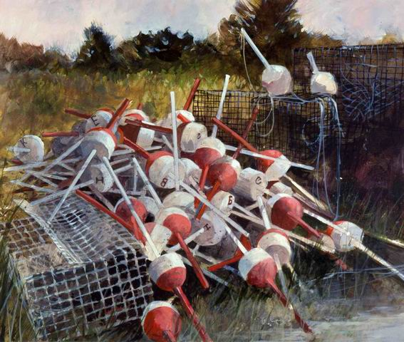 Crab traps & bouys