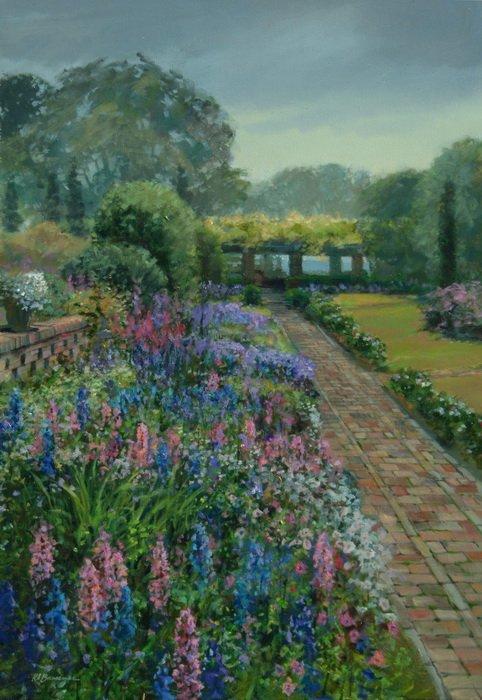 Cummer Museum Gardens 24x36