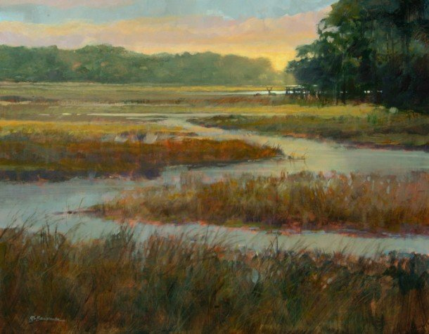 Deer in the Marsh