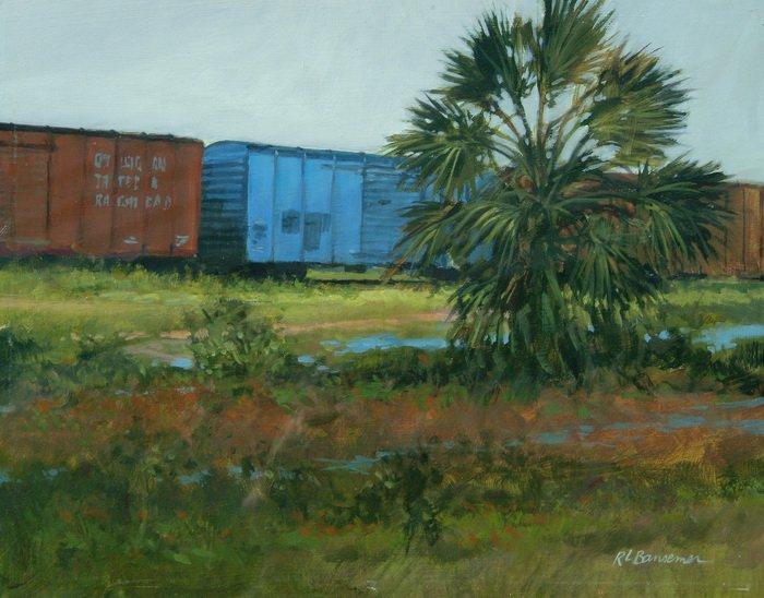 Fernandina Freight 11x14