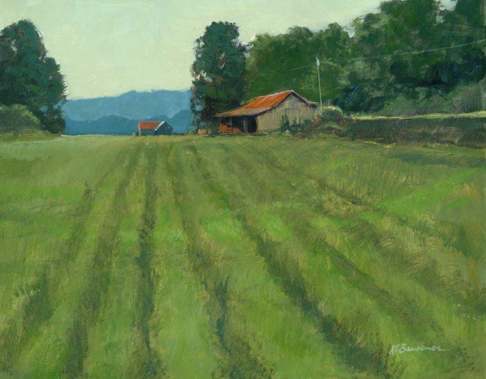 Field of Green 11x14