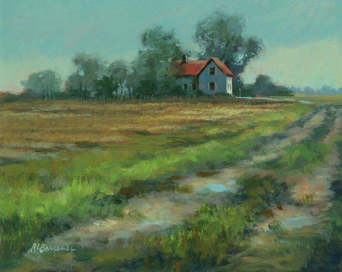 Fields of Georgia 9x12