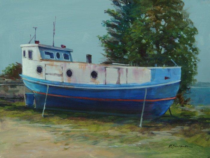 Gil Net Boat