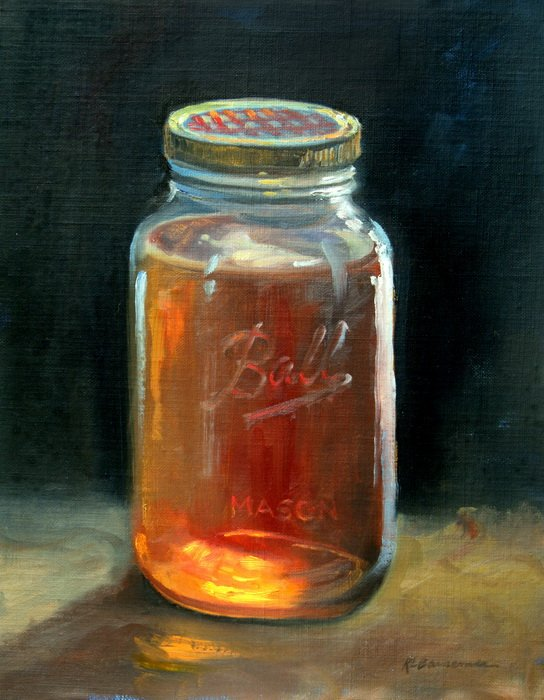 Honey Jar 11x14