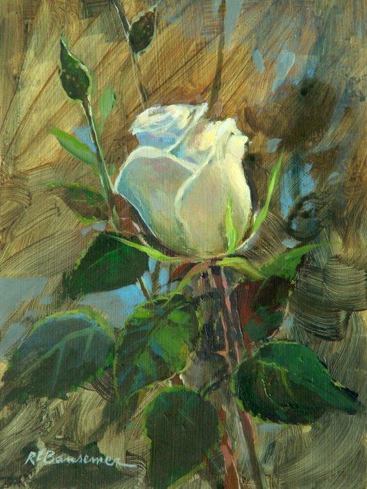 Bansemer Studio Amp Gallery Of Fine Art The White Rose