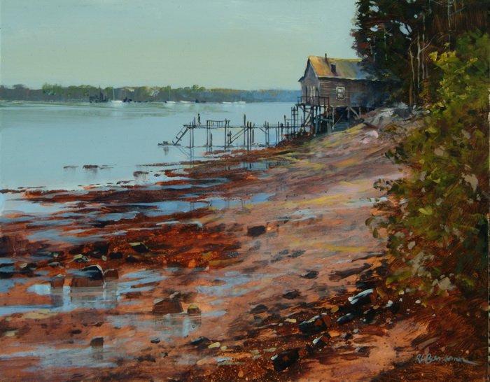 Low Tide - Brooklin Maine (2)