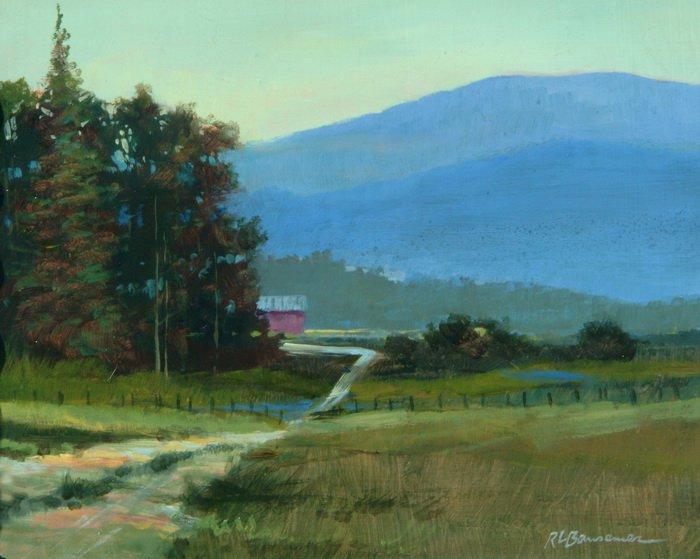Mountains Edge 8x10