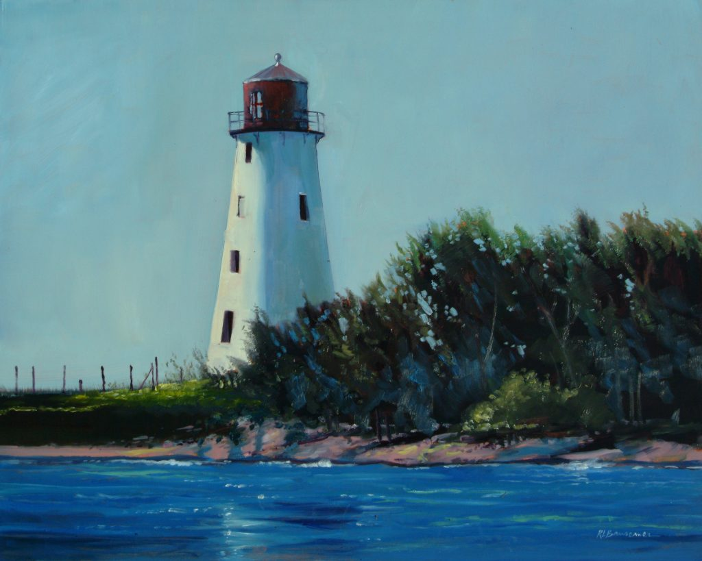 Nassau Lighthouse Painting