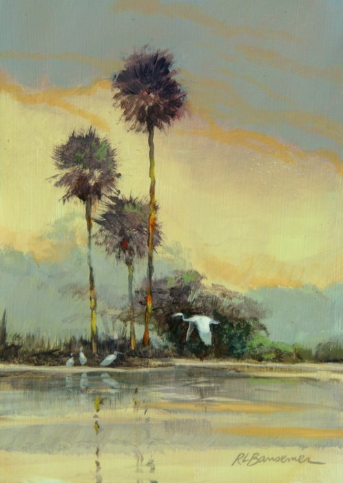 Palms Three 5x7