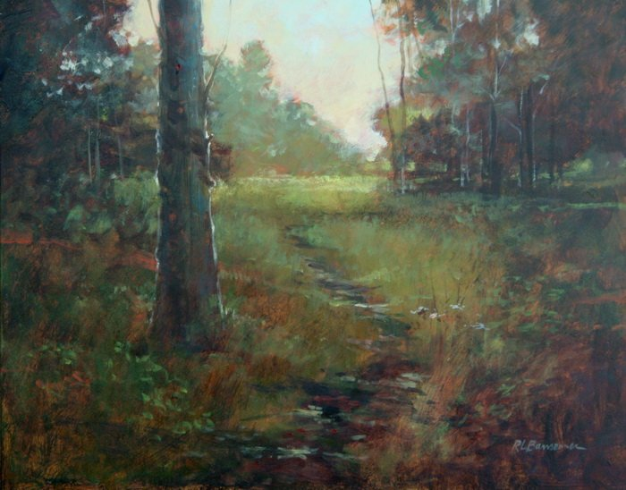 Path by the Tree 11x14