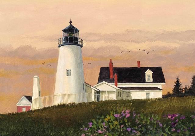 Pemaquid Point Maine