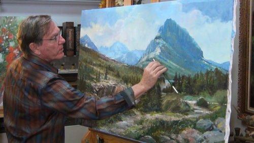 Roger Bansemer at Glacier Park