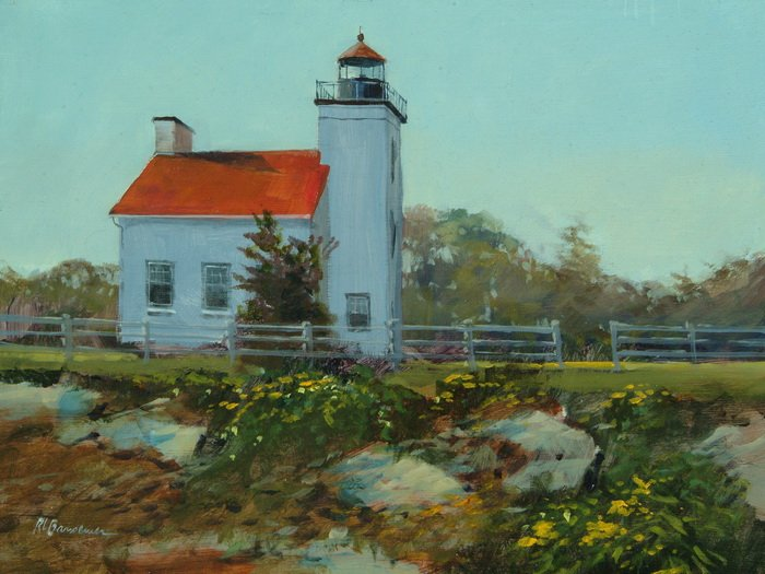Sand Point Lighthouse 9x12