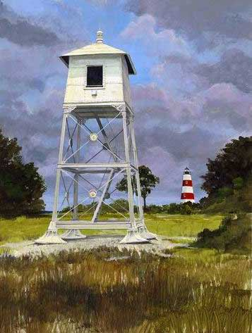Sapelo-range-light