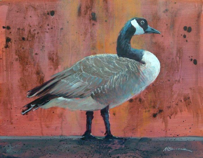 Sault Ste. Marie -Goose-11x14