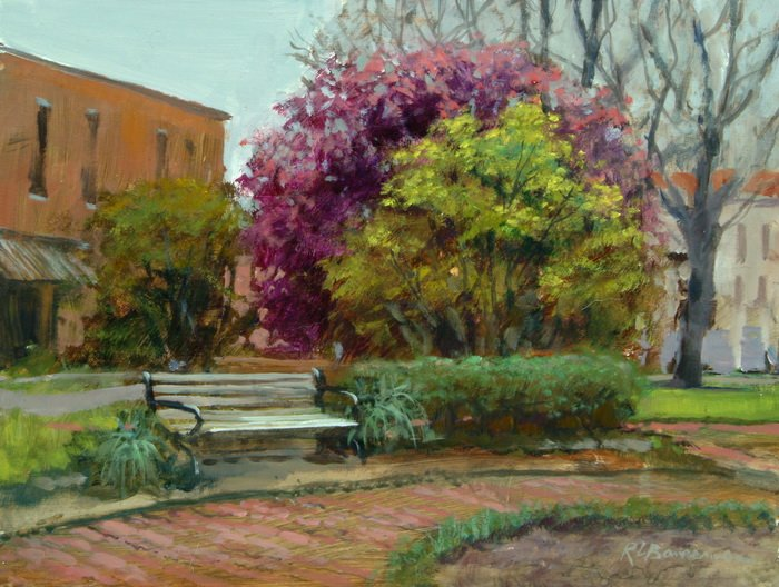 Telfair Square-Savannah 9x12