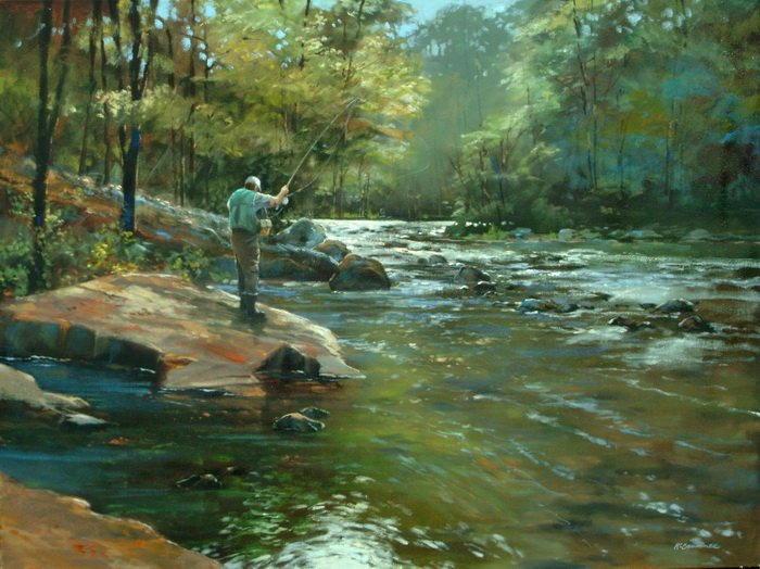 The Fly Fisherman 30x40