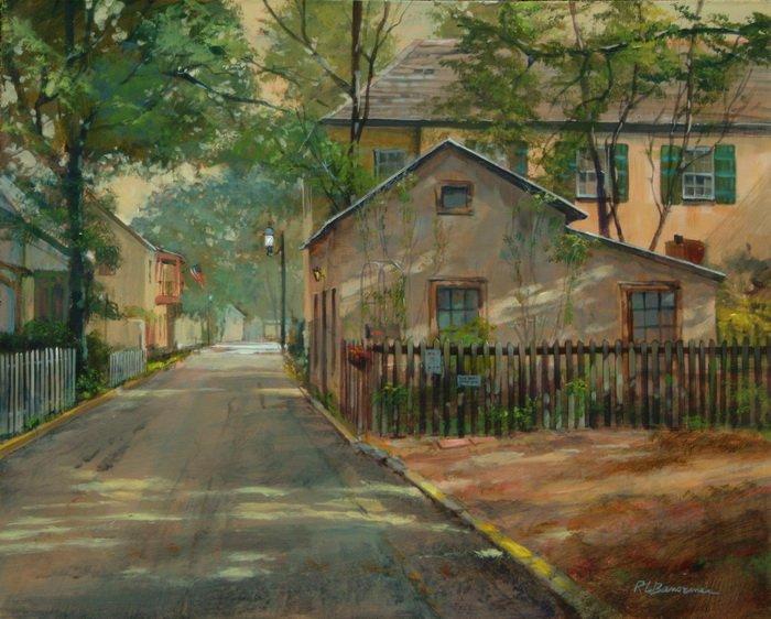The Little House on Spanish Street