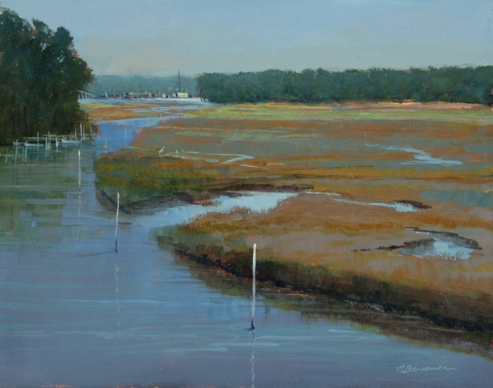 The Marshes of Franklin County 11x14
