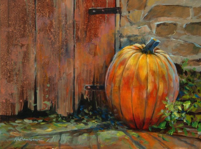 The Pumpkin 9x12