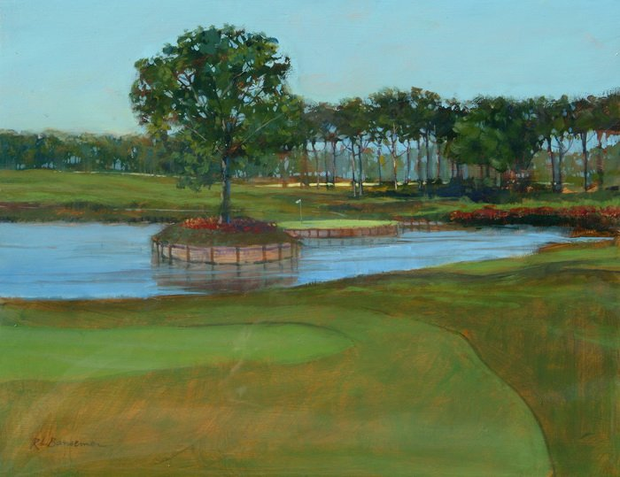 The Seventeenth Fairway 11x14