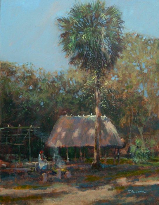 bansemer studio gallery of fine art the timucua shelter