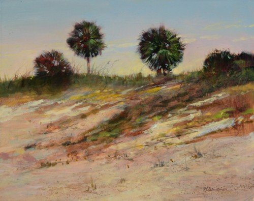 Three Palms on the Dunes