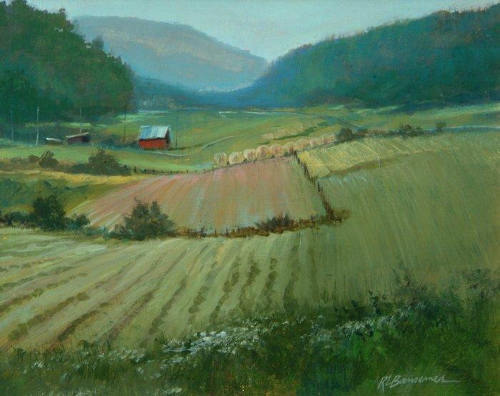 Valley Fields 8x10