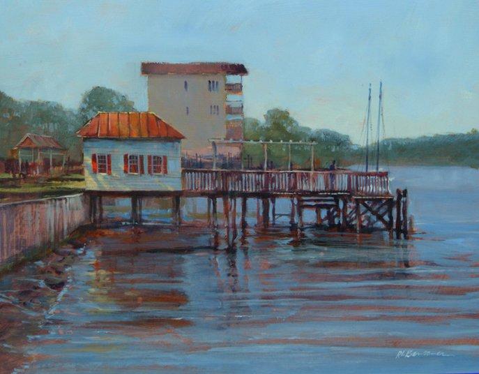 Wharf at Carabelle
