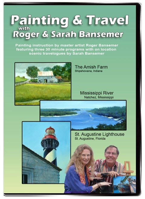 Amish Farm / Mississippi River / St. Augustine Lighthouse DVD