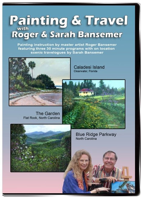 Caladesi Island / The Garden / Blue Ridge Parkway DVD