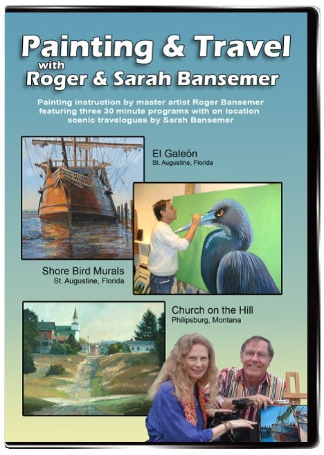 El Galeón / Shore Bird Murals / Church on the Hill DVD