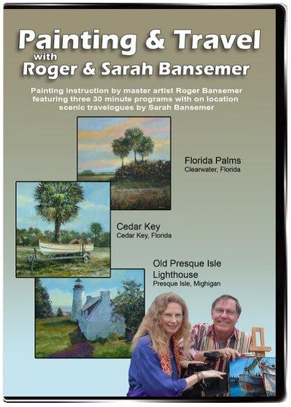 Florida Palms / Cedar Key / Old Presque Isle Lighthouse DVD