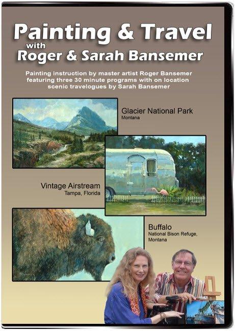 Glacier National Park / Vintage Airstream / Buffalo DVD
