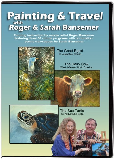 Great Egret / Dairy Cow / Sea Turtle DVD