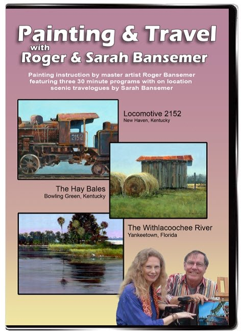 Locomotive 2152 / Hay Bales / Withlacoochee River DVD