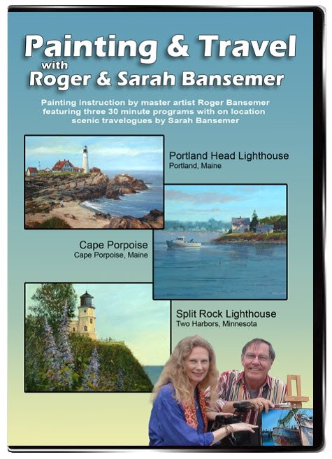 Portland Head Lighthouse / Cape Porpoise / Split Rock Lighthouse DVD
