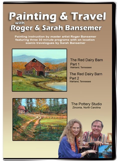 Red Dairy Barn - Part 1 & 2 / Pottery Studio DVD