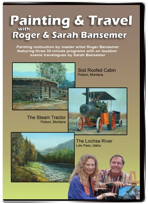 Sod Roofed Cabin / Steam Tractor / Lochsa River DVD
